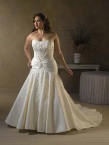 grote mode trouwjurk