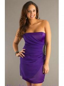 grotemode cocktail jurk