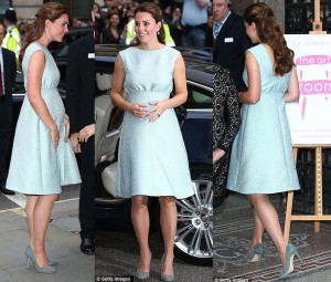 Kate Middleton maternity clothes style